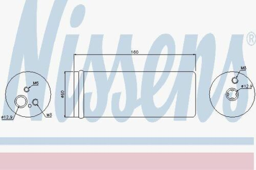 Nissens 95171 Receptor Secador De Ajuste Audi A3 96