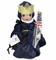 Precious Moments Disney Villains Evil Queen Snow White 4th Of July 12 Doll