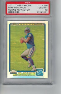 2001-Topps-Chrome-Rookie-Refractor-239-Mike-McHahon-RC-Ser-939-999-PSA-10