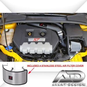 Fits-2013-2014-FORD-FOCUS-ST-2-0L-2-0-Turbo-AF-DYNAMIC-3-5-PIPE-COLD-AIR-INTAKE