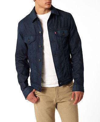 Levi's Men's Slim Fit Trucker Jacket Blue Blade NWT