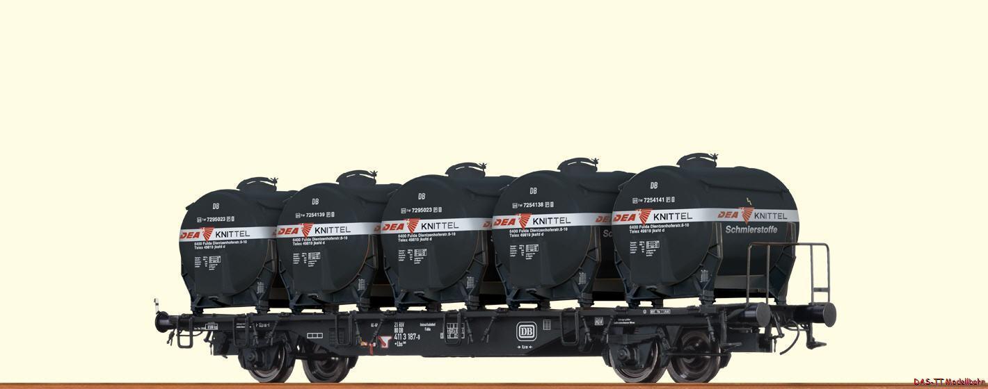 H0 Carrello Contenitore lbs589 dea DB Ep. IV BRAWA 49122
