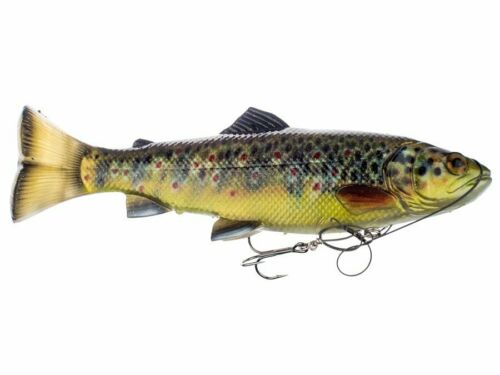 Savage Gear 4D Pulsetail Trout 25cm 202g Gummifisch Köder mit Haken NEU 2019