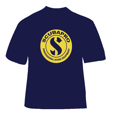 T shirt SCUBA diving nitrox technical mixed gas rebreather scubapro