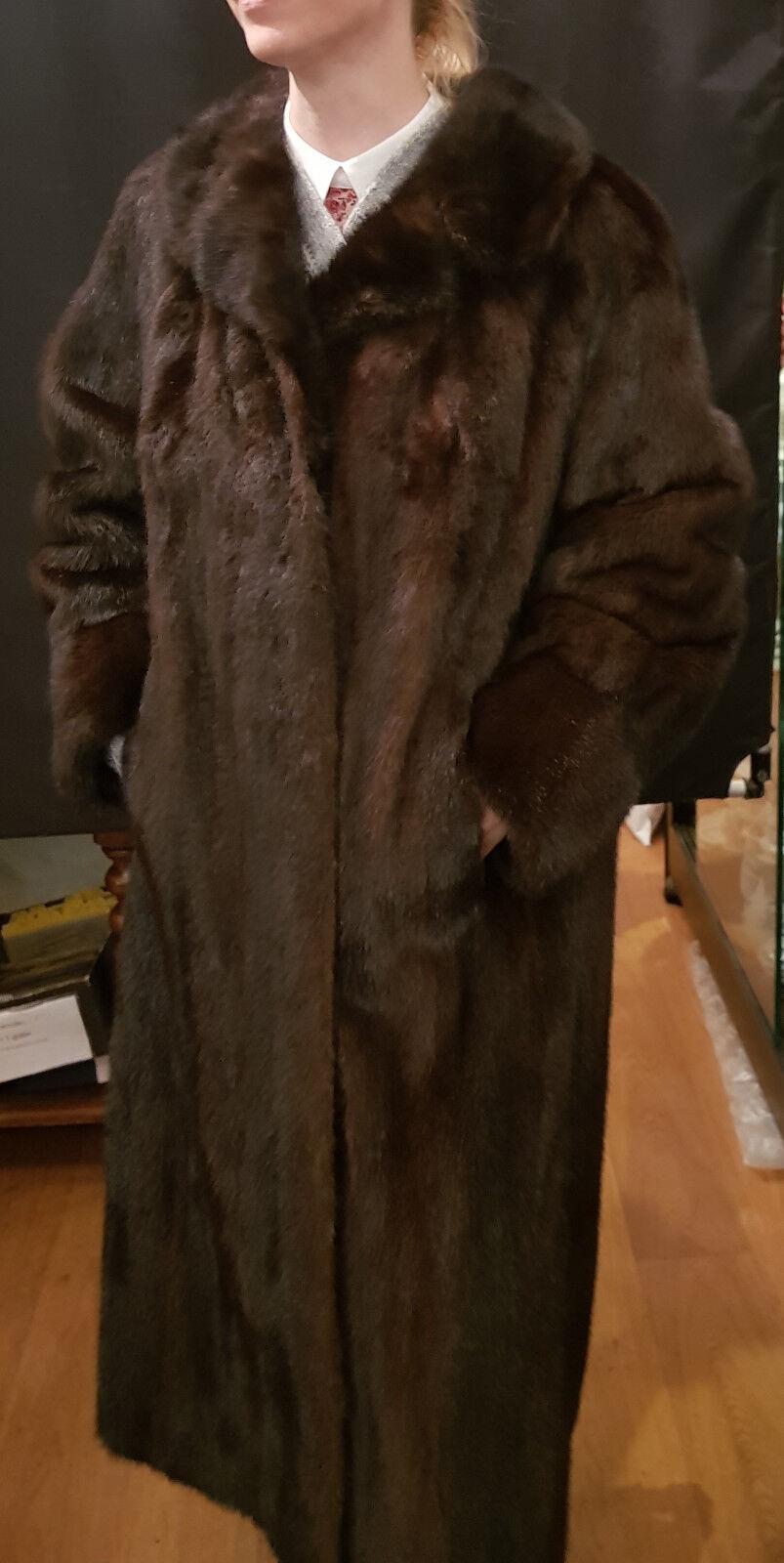 Vintage Nerz Mantel Größe 40  42
