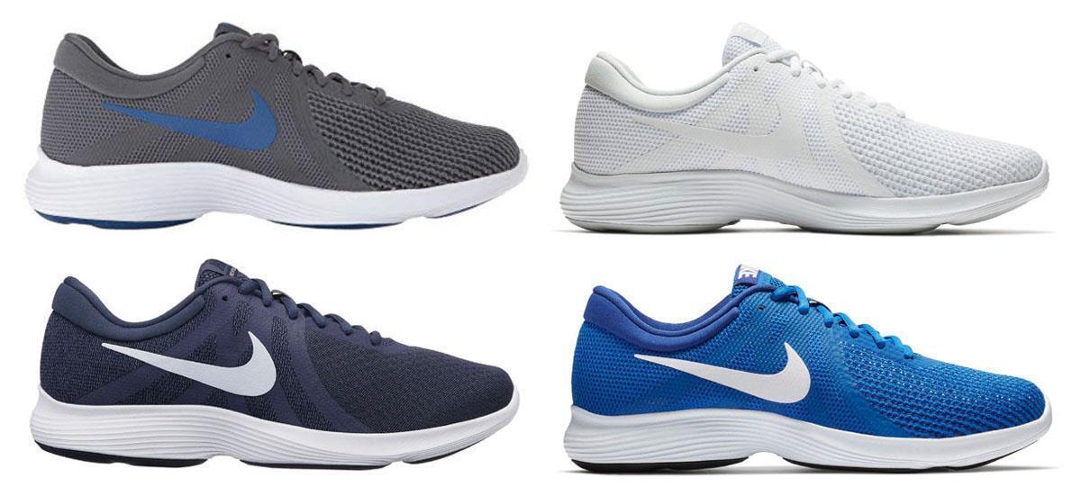 NIKE Men's Lightweight Running Sneakers in 4 colors