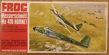 Messerschmitt Me 410 Hornet Frog 1/72 VINTAGE model aircraft kit Sealed Bag 155R