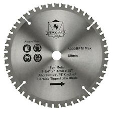 "Saw Blade C4 Carbide Tipped 7-1/4"" inch 48 Teeth w/ 5/8"" Arbor 8,000rpm"