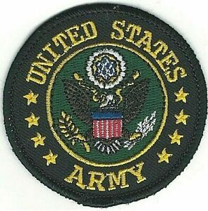 Military Seal of the US Army Iron on Sew on Patch