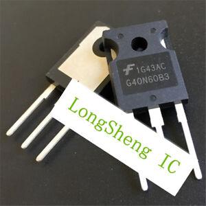 5pcs-HGTG40N60B3-G40N60B3-TO-247-IGBT-Transistor-new