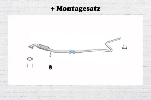 Mittelrohr Ford Fiesta V 1.25 1.3 1.4 51//55//59KW Auspuff Flexrohr Abgasrohr