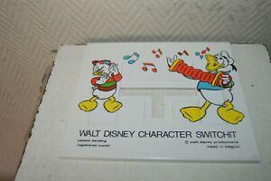 Walt-Disney-Personaje-Switchit-Mickey-y-Donald-Puzle-Despiezado-Calavera-Vintage