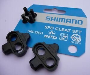 CLEATS-Shimano-SM-SH51-MTB-Bike-Single-Release-SPD-Pedals-Clipless