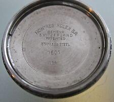 VINTAGE ROLEX datejust   back case  ref 1601 FROM 1964