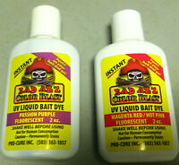 Pro Cure Bad Azz Color Blast Bait Liquid Dye 2 Oz -perfect For Small Jobs