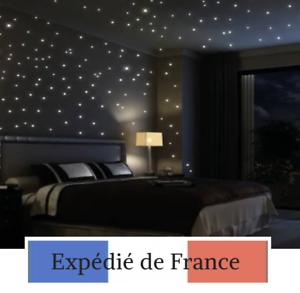 Details Sur Etoiles Phosphorescentes Lumineux Deco Chambre Enfant Jaune Bleu Vert