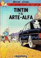 TINTIN Y EL ARTE ALFA de Hergé y Rodier. Album en tapa blanda ed. Castafiore.