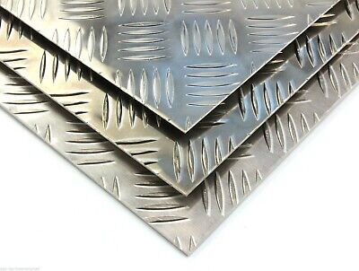 23 sizes to choose from 150mm x 150mm 3.0mm Thick Aluminium Chequer Plate