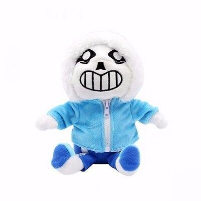 New UNDERTALE Blue Sans Plush Doll Pillow Cushion Toy Kids Gift