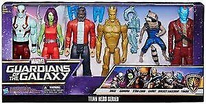 Guardians of the Galaxy - Titan Hero Series 6pk  Figures 12  articles promotionnels