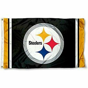11ed6f0c WinCraft Pittsburgh Steelers Large NFL 3x5 Flag