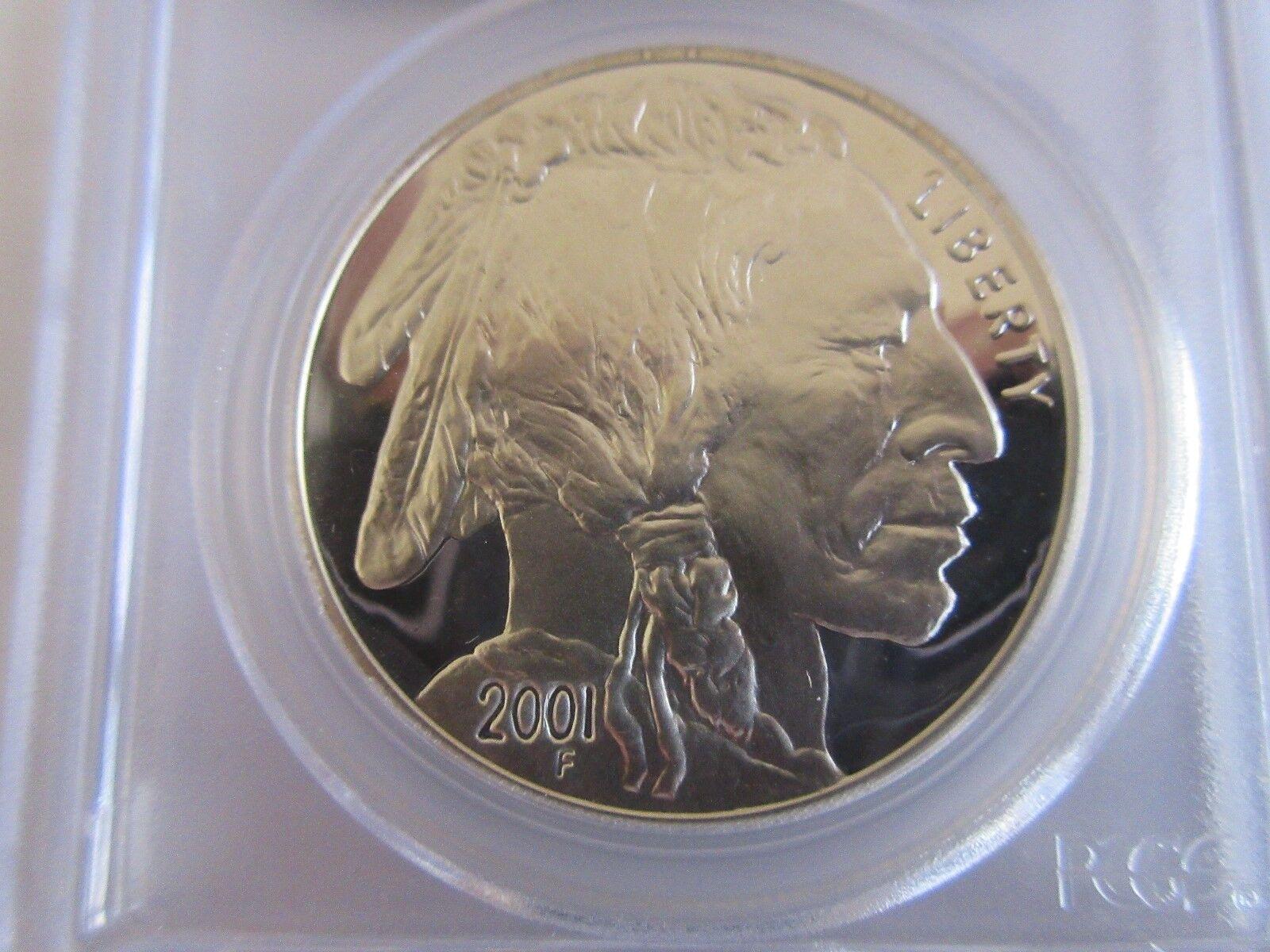 2001-P , American Buffalo , PCGS , PF70DCAM , Buffalo S
