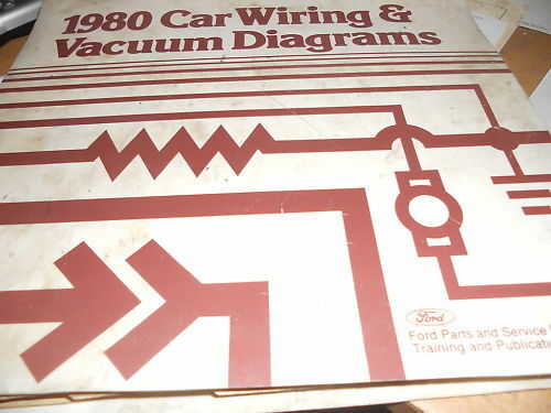 1980 FORD LTD CROWN VICTORIA WIRING DIAGRAMS MANUAL SET | eBay
