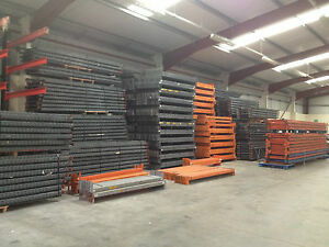 used second hand link 51 pallet racking frames 3600x900 beams 2650