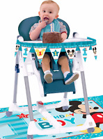 Disney Baby Mickey First Birthday Chair Decorating Kit Boy 1st Party Supplies