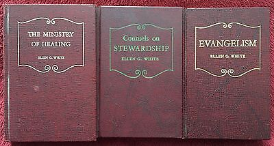 VINTAGE 1948 TESTIMONIES FOR THE CHURCH ELLEN G. WHITE 4 VOLUME SET. Hardcover