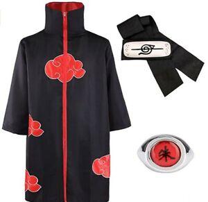 LUOWAN Akatsuki Itachi cape, Anime Naruto, cosplay, kostuum Akatsuki Itachi