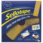 1445179 Sellotape Sticky Hook Strip 25mmx12m Yellow