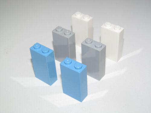 Lego ® Lot x2 Briques Pilliers Poteau 1x2x3 Brick Pillard Choose Color ref 22886