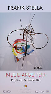 Frank-Stella-Offset-handsigned-handsigniert