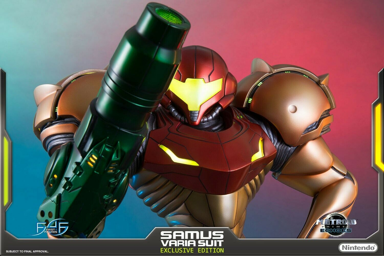 Samus Varia Suit Exclusive 1 4 Metroid first 4 figures F4F (preorder)