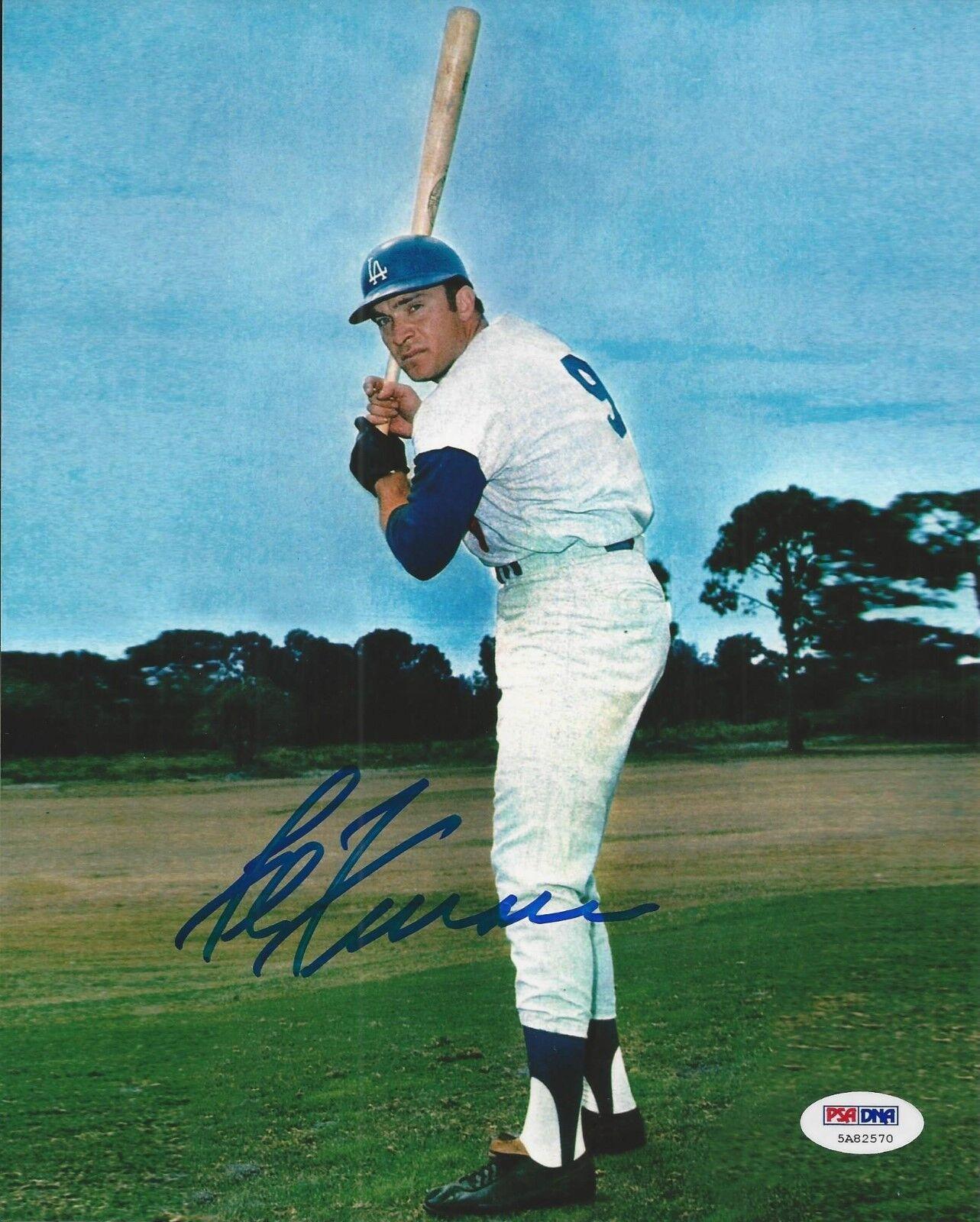 Al Ferrara signed Los Angeles Dodgers 8x10 photo PSA/DNA COA#5A82570