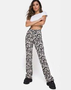 MOTEL-ROCKS-Zoven-Trouser-in-90-039-s-Zebra-Black-and-White-MR42-7