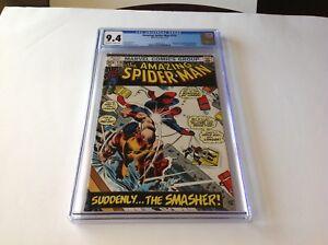 AMAZING-SPIDER-MAN-116-CGC-9-4-THE-SMASHER-JOHN-ROMITA-MARVEL-COMICS