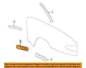 Chevrolet GM OEM 13-16 Malibu Exterior-Rear-Reveal Molding Left 23176657