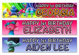 personalized happy birthday banner