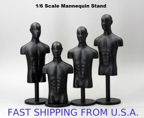 """1//6 Mannequin Stand Multi Function For 12/"""" Figure Accessories Display ❶USA❶"""