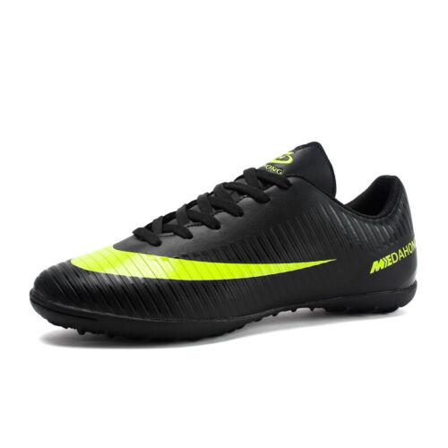 Men Women Football Shoes Teenagers Sports Sneakers Big Kids Soccer Shoes