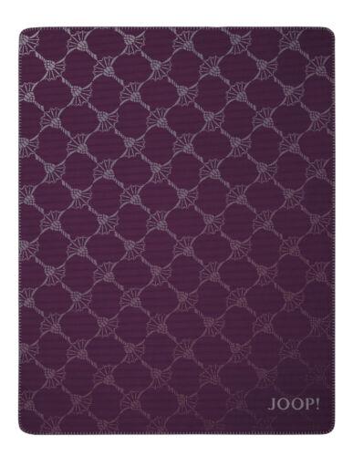 JOOP Cornflower Double Wohndecke 150x200 cm Dark-Aubergin 731241 Abverkauf Sale