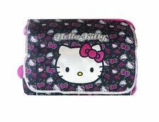 Hello Kitty Face Messenger / Black - BackPack For Kid BRAND NEW Licensed Product