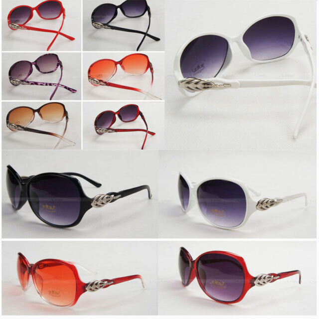 Women's Classic Cat Eye Designer Fashion Shades 7 Color Frame Sunglasses