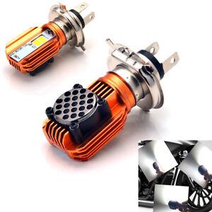 2018-H4-20W-LED-Motorrad-Fern-Abblend-Scheinwerfer-Lampe-Birne-Roller-ATV-12V