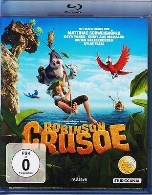Robinson Crusoe   BLU-RAY