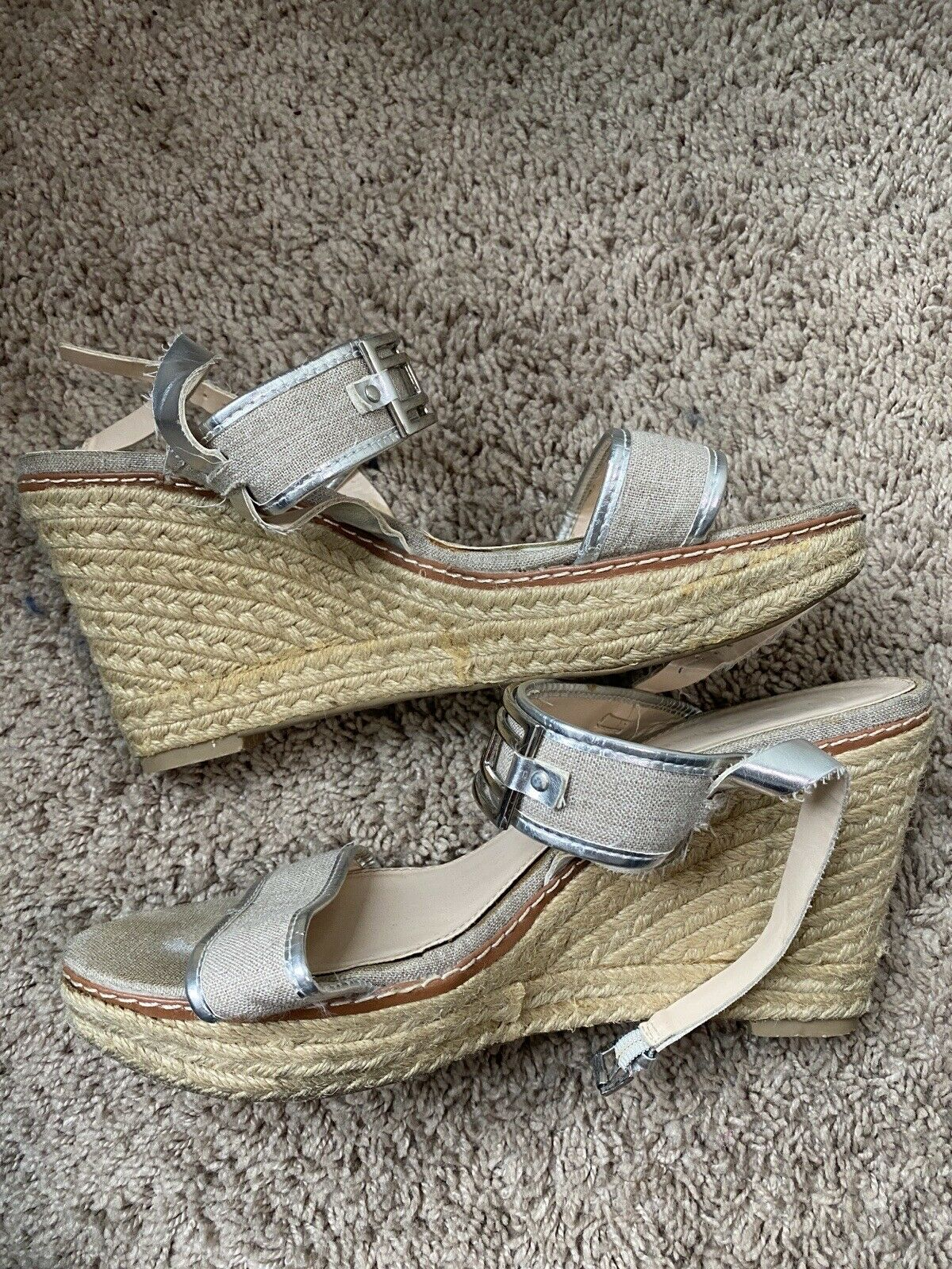 Womens Tommy hilfiger wedges size 10 - image 2