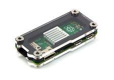 Zebra Zero Heatsink Black Ice Case for Raspberry Pi Zero 1.3 and Zero W ~ C4Labs