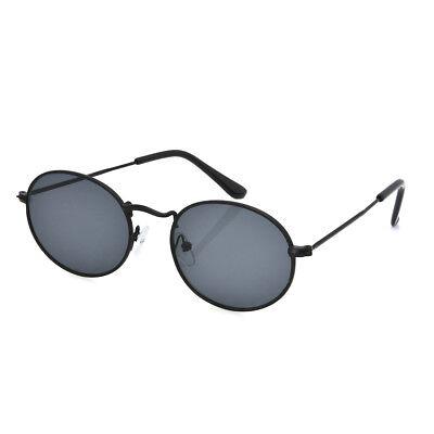 Women Vintage Retro Oval Sunglasses Ellipse Frame Glasses Trendy Fashion Shades